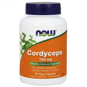 Now Foods Cordyceps 750 mg